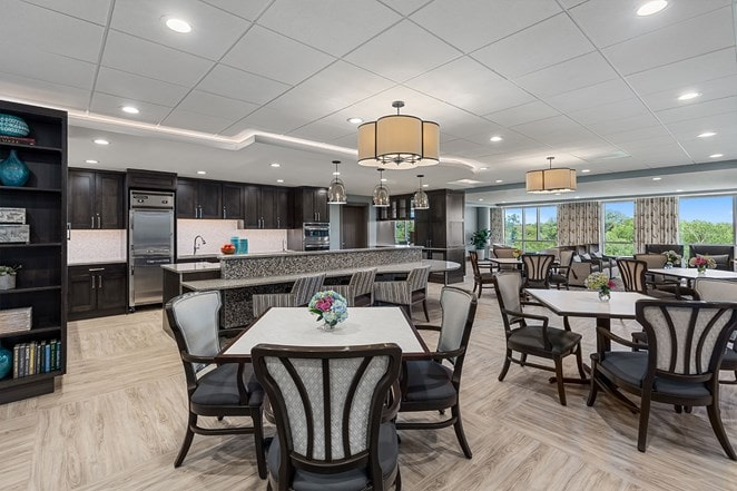 Senior Living Cafe at The Vista