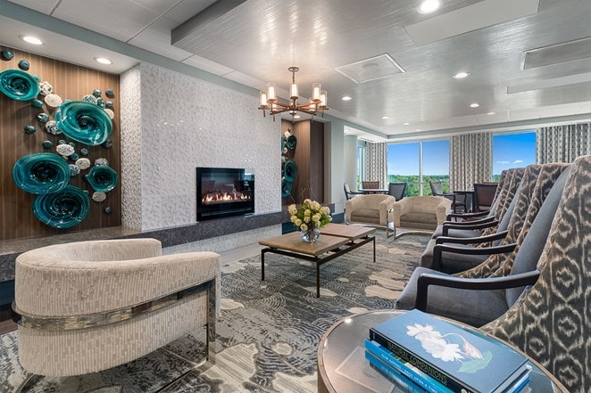 living room at The Vista