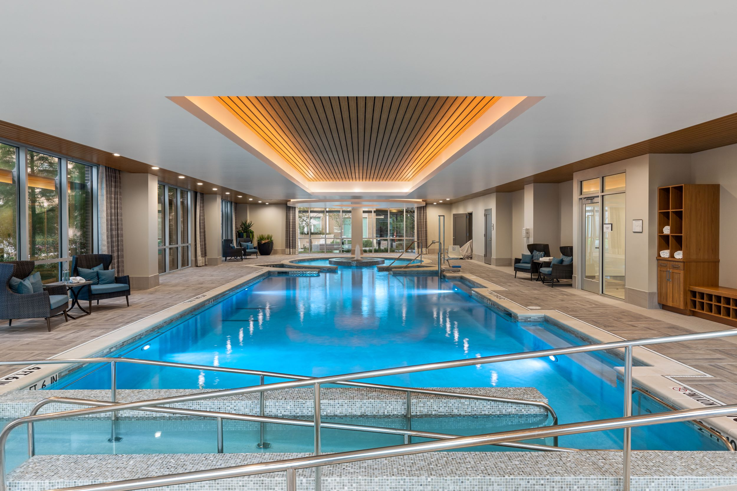 The Vista indoor swimming pool